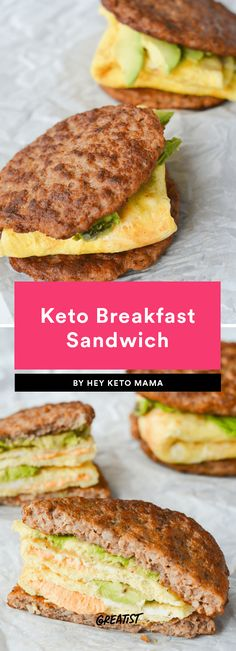 3. Keto Breakfast Sandwich #greatist https://greatist.com/eat/keto-recipes-that-satisfy-carb-cravings