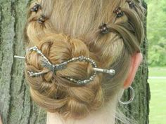 Flexi8 Hair Clips: LOVE these! They come in seven sizes (I have five myself). I use them to secure buns/updos, finish off braids, and sometimes just for decoration. (There are so many beautiful styles to choose from.)