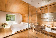 "Thom Mayne, Ando, Kuma & Zumthor Contribute Rooms for ""House of Architects"" Hotel in Vals,Kuma Room. Image © Global Image Creation – 7132 Hotel, Vals"