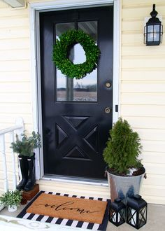Gorgeous front door