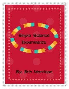 Teach your students the Scientific process using these five hands-on and interactive science experiments!