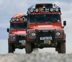 Land Rover Defender 110 Td4- G4 Challenge Adventure.