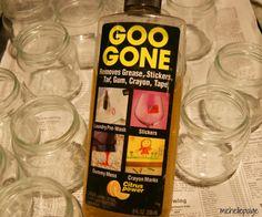 michelle paige: Painting Glass Jars