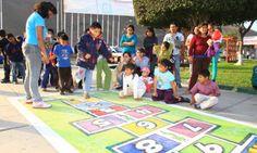 Realizaron feria de juegos tradicionales en plaza de armas de ...