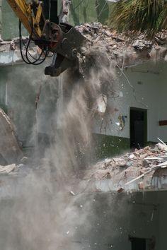 Gotta love demolition! #demolition