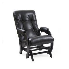Кресло качалка Глайдер модель 68 Vegas Black