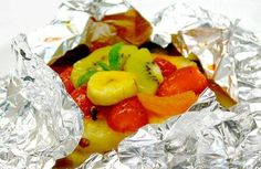 Frutas no vapor com calda de maracujá light | Panelinha - Receitas que funcionam
