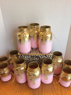Baby Centerpiece Gold and Pink Mason Jar Baby Shower Centerpiece Gold Mason Jar Baby Girl Decor Pink Baby Shower 2019 Gold and Pink Mason Jar Baby Shower Centerpiece Gold Mason Mason Jar Crafts, Mason Jar Diy, Bottle Crafts, Diy Bottle, Mason Jar Centerpieces, Baby Shower Centerpieces, Princess Centerpieces, Pink Centerpieces, Girl Baby Shower Decorations