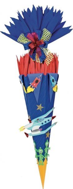 Schultüten - Handgefertigte Schultüte * Galaxy 5 * - ein Designerstück von bastelstuebel2011 bei DaWanda