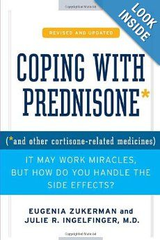 If you are taking prednisone or related drug (glucocorticoid), I highly recommend this book. Wish I had known about it when I was on a higher dose but better late than never! Any doctor that prescribes prednisone should tell their patients about this book!