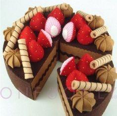 felt food cake