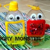 Hungry Monster Color Sorters  - Pinned by @PediaStaff – Please Visit  ht.ly/63sNt for all our pediatric therapy pins