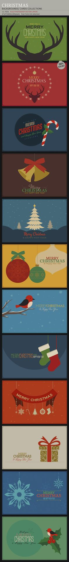 Weihnachten von creative artx, via Behance - Graphic Design Inspiration Board -