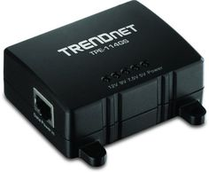 TRENDnet Gigabit Power over Ethernet (PoE) Splitter TPE-114GS (Black) by TRENDnet. $23.99. The Gigabit Power over Ethernet Splitter; model TPE-114GS; is used to install non-PoE devices in remote locations. It splits a networked PoE signal into separate power and Gigabit data sources. Run an Ethernet cable from a Gigabit PoE switch (or injector) for distances up to 100 meters and then split the PoE signal into separate Gigabit data and power sources in order to netwo...