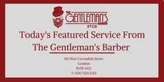 Today's featured Traditional Barber Service at our Central #London Shop is a Beard Trim - £12. http://wu.to/GheMrF #TGB