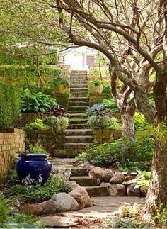 Garden Steps On A Slope Ideas_3