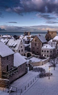 Reasons to Travel to Sweden During Winter Visby in winter, Sweden