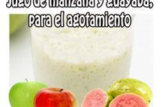 Jugo de manzana y guayaba para el agotamiento - Jugos medicinales