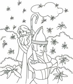 Baby Moses Coloring Pages - Baby Moses Coloring Pages , Page Coloring Outstanding Marine Life Coloring Pages Bible Stories For Kids, Bible Lessons For Kids, Bible For Kids, Bible Coloring Pages, Animal Coloring Pages, Coloring Books, Moses Plagues, Moses Bible Crafts, Baby Moses
