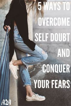 Over come that self-doubt and negative self talk that is holding you back from achieving your goals