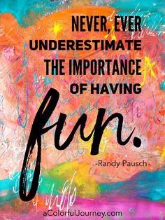 The Reason I Play with Paint - Carolyn Dube