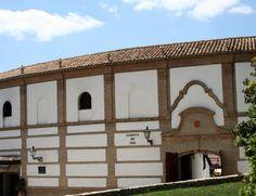 """#Malaga - #Antequera - Plaza de Toros. 37°1'19"""" - 4°33'52"""".  Construida entre 1846 y 1848, en su interior tiene un interesante museo taurino. La tradición taurina de Antequera se remonta a principios del siglo XVI, de cuando data la primera corrida de la que tenemos noticia."""