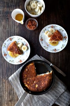 Bacon Cracklin' Pancake with Salted Honey   Lady and Pups Blog