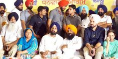 A glimpse of thanksgiving rally organized by the Urban District President Jatinder Singh Lalli Bajwa in Hoshiarpur where prominent present on the occasion included Cabinet Minister Bikram Singh Majithia, Cabinet Minister S.Sohan Singh Thandal, Bibi Mohinder Kaur Josh, MLA Surinder Singh Bhulewal Rathan OSD DCM Parminder Singh Brar and Sarbjot Singh Saabi, President YAD Doaba Zone.