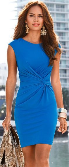 Cap Sleeve Front Dress | BuyerSelect.com