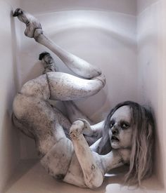 Emilie Steele Art doll's - Borderland Project