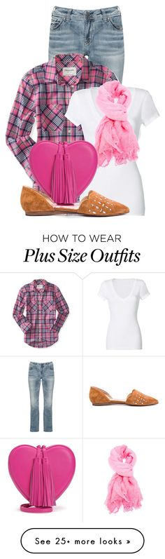 """""""Untitled #14309"""" by nanette-253 on Polyvore featuring Silver Jeans Co., Aéropostale, Michael Stars, Faliero Sarti, Juicy Couture, Joe's Jeans, women's clothing, women, female and woman"""
