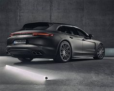 Yes, The 2018 Porsche Panamera Sport Turismo is a Wagon at werd.com