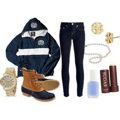 preppy outfits | Preppy Outfit For A Rainy Day