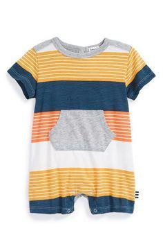 Splendid Stripe Romper (Baby Boys) available at #Nordstrom