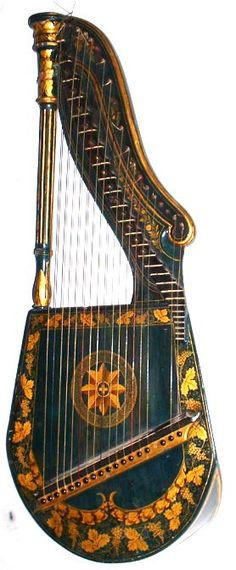 zither harp #music #instruments #harp http://www.pinterest.com/TheHitman14/music-instruments/