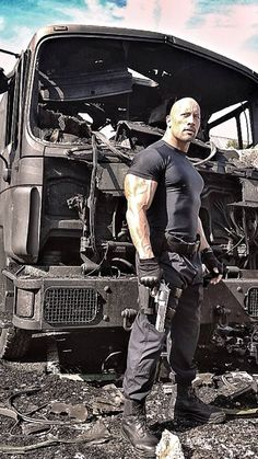 The Rock, fast and furious 6