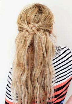 How to Chic: CELTIC KNOT HAIRSTYLE