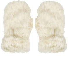 Pin for Later: 17 Accessoires Qui Ne Vous Feront Pas Ressembler à Un Sapin de Noël  Moufles en fourrure synthétique patte d'ours (26€)