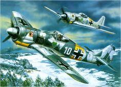 Focke-Wulf Fw-190A of Oberleutnant Walter Nowotny