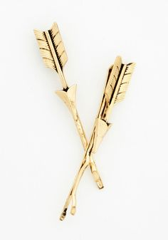 Glow and Arrow Hair Pin Set, #ModCloth