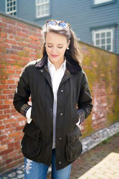 Classic Barbour Beadnell Style | Covering the Bases | Fashion and Travel Blog New York City