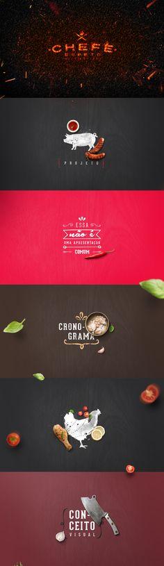 Book para apresentar o Chefe Espeto - House of the BBQ.