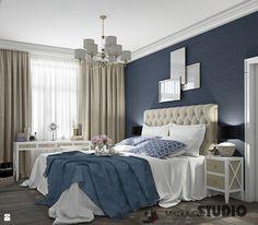 luksusowa sypialnia - zdjęcie od MIKOŁAJSKAstudio - Sypialnia - Styl Nowojorski - MIKOŁAJSKAstudio