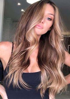 Brown Hair Balayage, Brown Blonde Hair, Light Brown Hair, Hair Highlights, Blonde Hair For Winter, Long Bronde Hair, Bronde Haircolor, Blonde Brunette, Black Hair