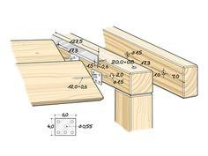 Terrasse mit Holzdeck und Lamellendach selber bauen