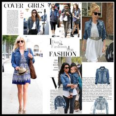 The denim jacket- An all time fave and wardrobe classic. Guess I will bust mine out since it is back in style! ;)
