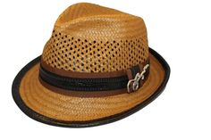 e0f7679c Carlos Santana Men's Mohican Vented Toyo Fedora L/XL Honey at Amazon Men's  Clothing store: