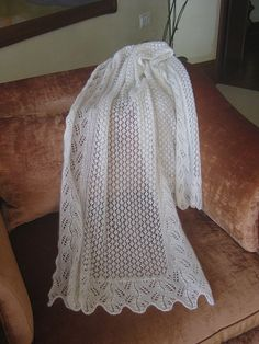 Wedding Shawl Pattern By Cat's Cradle Studio