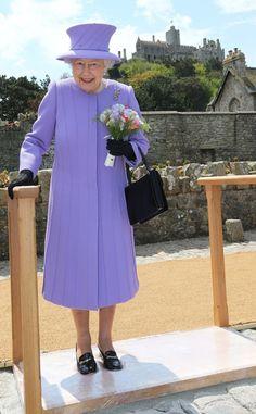 Queen Elizabeth II - Queen Elizabeth II Visits Cornwall