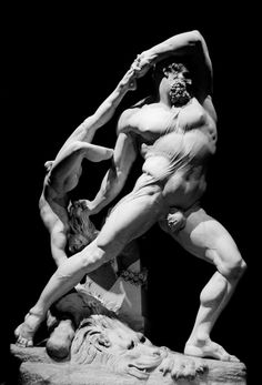 Ercole e Lica - Antonio Canova http://www.italianways.com/canova-herculess-frenzy-and-lichass-terror/